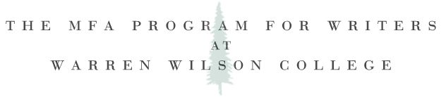 MFA Program for Writers | Warren Wilson